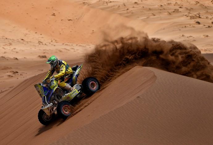O chileno Ignacio Casale conquistou o título dos quadriciclos do Dakar 2014 (Foto: Frederic Le Floch/DPPI)