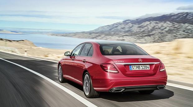 Mercedes-Benz Classe E (Foto: Mercedes-benz)