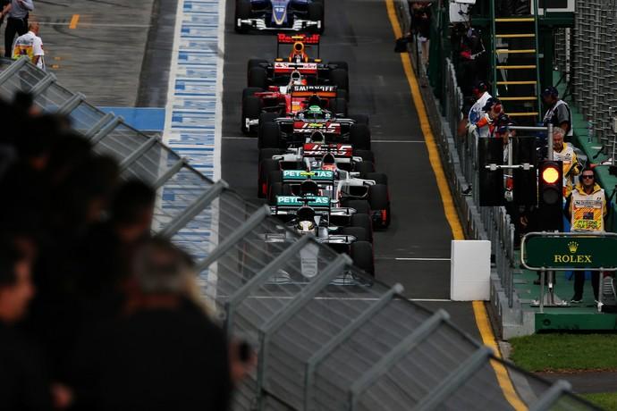 Novo formato de treino classificatório da Fórmula 1 estreou na Austrália (Foto: Getty Images)