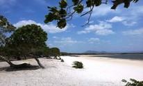 Lago Caracaranã é opção de turismo em RR; FOTOS (Neidiana Oliveira/G1)