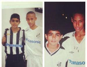 Gabigol e Neymar (Foto: Reprodução / Instagram)