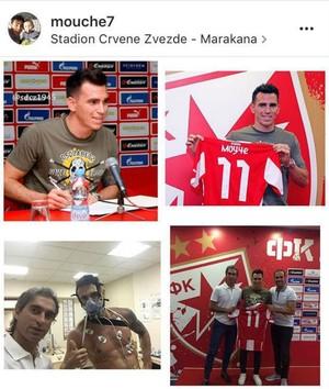 Mouche Estrela Vermelha (Foto: Reprodução / Instagram)