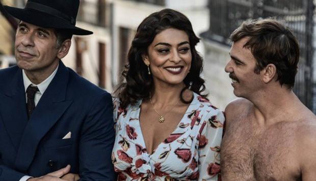 Leandro Hassum, Juliana Paes e Marcelo Faria em cena de Dona Flor e Seus Dois Maridos (Foto: Fabio Bouzas/Divulgação)