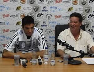 Rafael Goiano, zagueiro do Comercial (Foto: Gabriel Lopes / Comercial FC)