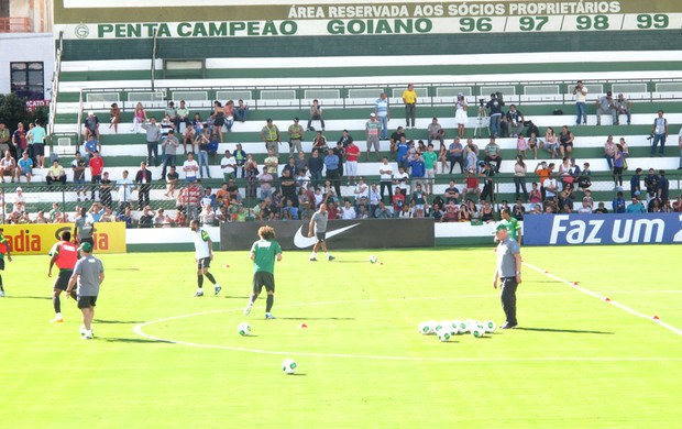 treino da Seleção Brasileira (Foto: Leandro Canonico)