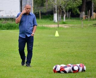 Manoel Monteiro Café presidente São José dos Campos FC (Foto: Danilo Sardinha/GloboEsporte.com)