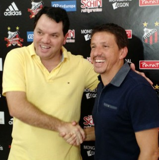Tarcísio Pugliese renova por um ano contrato com o Ituano (Foto: Emilio Botta)