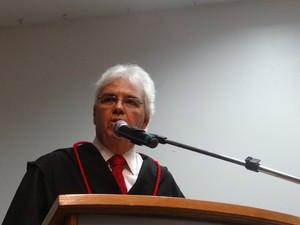 Sérgio Jucá assume procuradoria geral da Justiça. (Foto: Carolina Sanches/ G1)