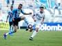 Grêmio sai atrás, mas Luan marca e arranca empate contra VEC na Arena