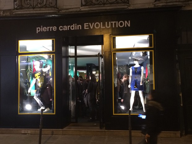 Pierre Cardin's store, Evolution, in Paris's Marais district  (Foto: Suzy Menkes)