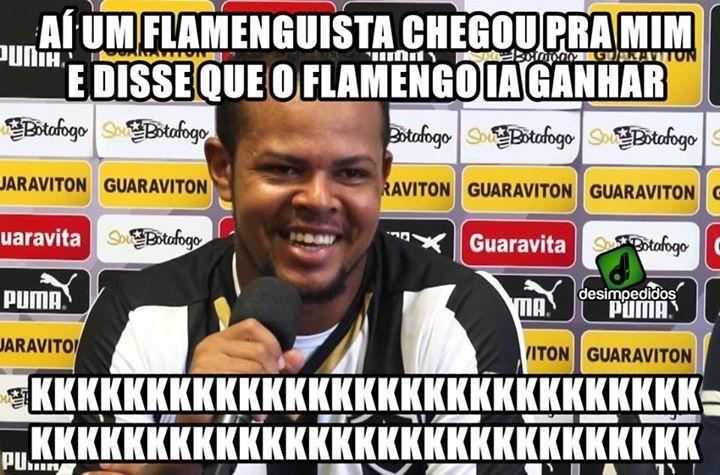 Zoação Botafogo x Flamengo