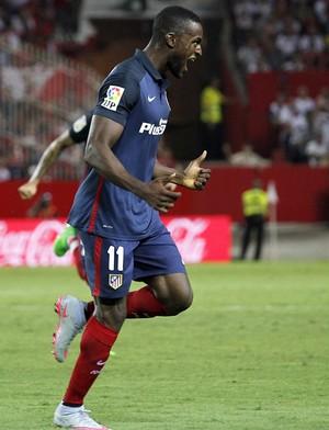Jakcson Martínez comemora gol Atlético de Madrid (Foto: EFE/Paco Puentes)