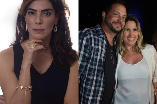 Heloisa Faissol e Conrado e Andréia Sorvetão (Foto: Graça Paes/Agencia Brazil News - Reprodução/Instagram)