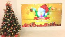 Inter TV recebe mensagens dos telespectadores na árvore de Natal (Victor Carvalho)