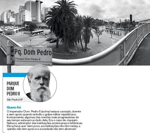 PARQUE DOM PEDRO II (Foto: Rogério Cassimiro/ÉPOCA e reprodução (2))