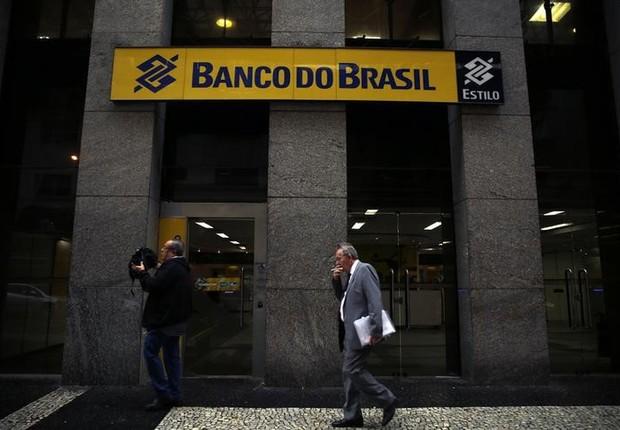 Agência do Banco do Brasil no centro do Rio de Janeiro (Foto: REUTERS/Pilar Olivares)