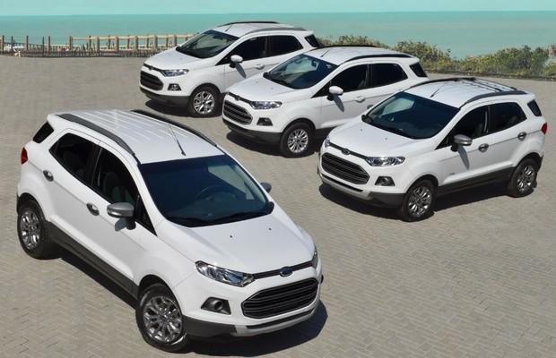 Ford Ecosport ganhará nova versão com câmbio Powershift (Foto: Divulgação)