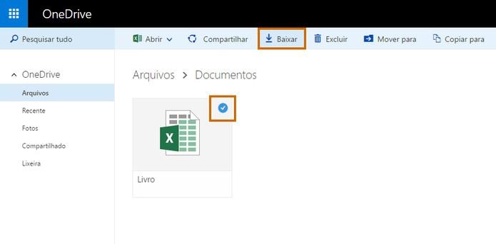 8187b4c11a51e Faça o download do template de tabela para o Excel (Foto  Reprodução Barbara