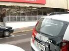 Ladrões rendem funcionários em tentativa de roubo a banco em Olímpia