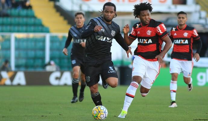 Carlos Alberto Figueirense x Flamengo (Foto: Luiz Henrique/Figueirense FC)