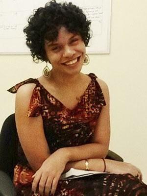 Maria Clara Araújo, aprovada no curso de pedagogia da UFPE (Foto: Arquivo pessoal/Maria Clara Araújo)
