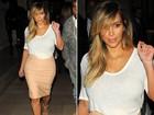 Suco verde e exercícios deram a Kim Kardashian sua cinturinha de volta