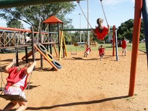 Parque infantil 'Mundo da Criança' passará por reformas e revitalização (Foto: Prefeitura de Uberlândia/Divulgação)