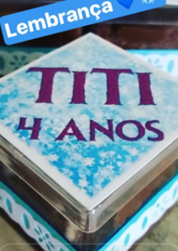 Decoração de festa de Titi (Foto: Titi)