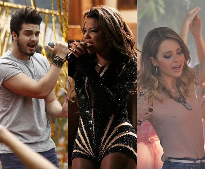 Luan Santana, Ludmilla e Sandy foram algumas das participações (Foto: TV Globo)