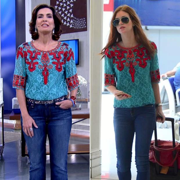 Fátima Bernardes e Marina Ruy Barbosa (Foto: Reprodução | AgNews)