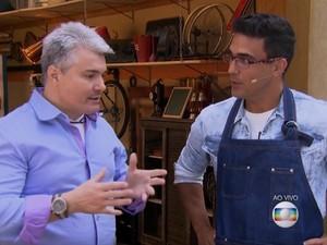Veterinário nutrólogo É de casa (Foto: TV Globo)