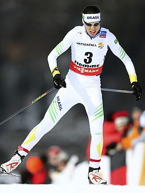 Jaqueline Mourão na final do Mundial de cross country (Foto: EFE)