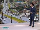 Belo Horizonte - 7h40: Batida causa lentidão no Anel Rodoviário