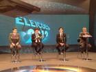 Candidatos a prefeito do Recife participam de debate na TV
