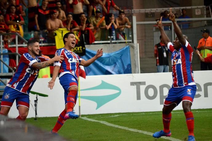 Edigar Junio Bahia Sport (Foto: Romildo de Jesus / Futura Press)