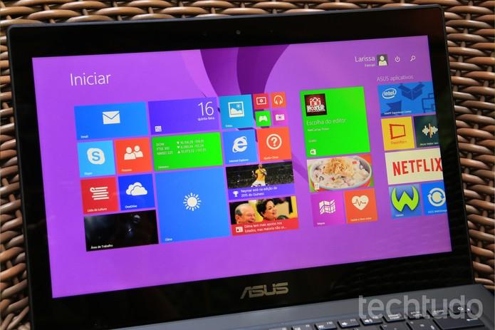 ASUS ZenBook UX301 (Foto: Lucas Mendes/TechTudo)