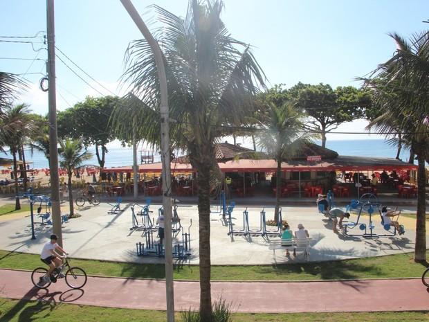 Academia ao ar livre e praça do ciclista são inauguradas (Foto: Divulgação/ Secom Vila Velha)