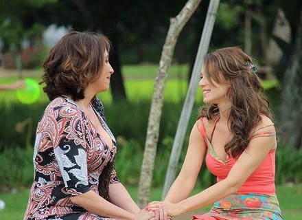 Francesca se emociona ao contar histórias do pai de Tancinha