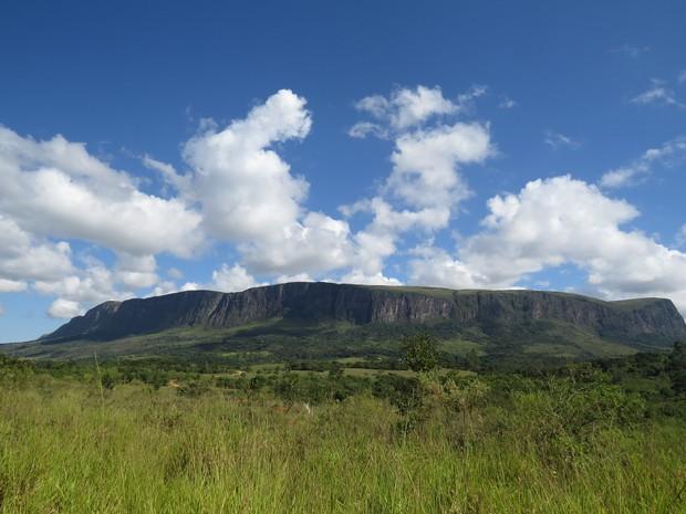 Vista do Parque Nacional da Serra da Canastra, que pode perder um quarto de sua área protegida (Foto: Leticia Zimback/Wikimedia)