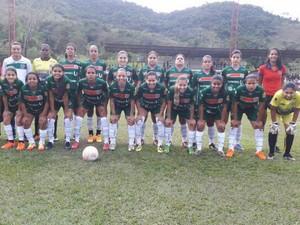 No jogo de ida as 'Tigresas de Aço' fizeram dois gols (Foto: Ipatinga Futebol Clube/Divulgação)