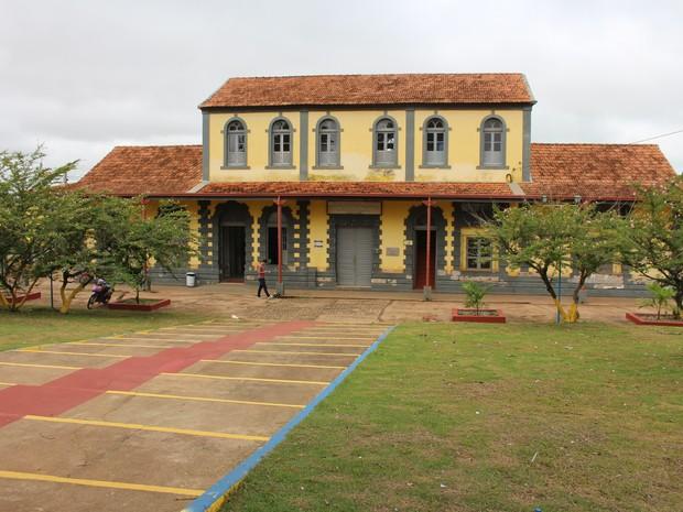 Museu Histórico Municipal de Guajará-Mirim (Foto: Júnior Freitas/G1)
