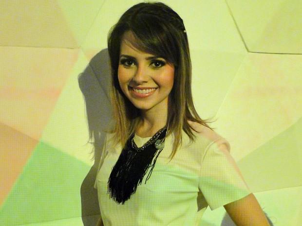 Sandy fala também sobre as mudanças que sente ao se aproximar dos 30 anos (Foto: Encontro com Fátima Bernardes/TV Globo)