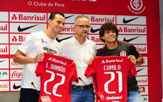 Apresentados, Camilo e Leandro Damião aparecem no BID e podem estrear
