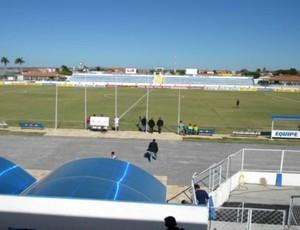Estádio Agenorzão, em Iguatu (Foto: Robson Roque/Agência Miséria de Comunicação)