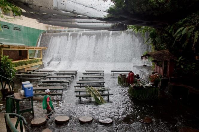 Ao longo do dia, as águas sobem a um nível ainda maior (Foto: Divulgação)
