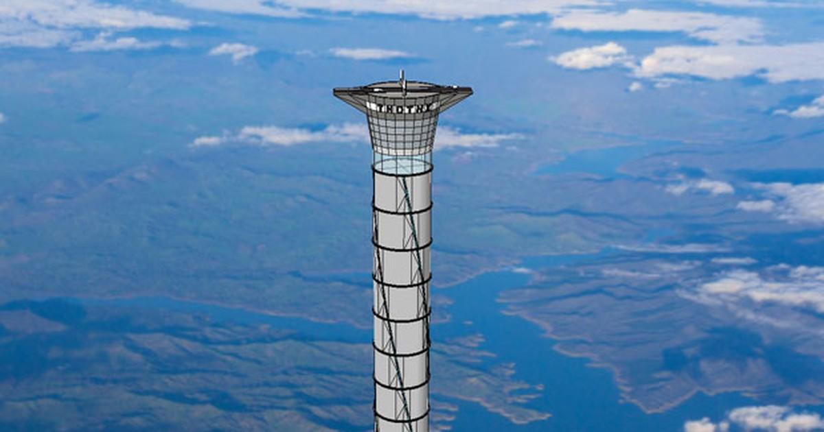 Empresa planeja elevador que abre atalho para o espaço