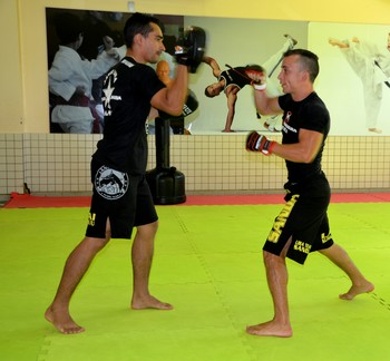 Adriano Pedra lutador de kung fu acre (Foto: Nathacha Albuquerque)