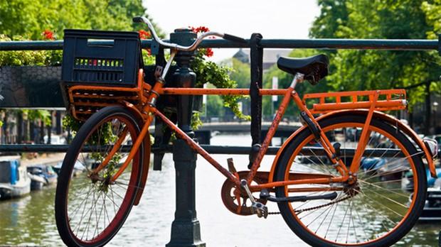 Amsterd de bicicleta (Foto: Divulgao)