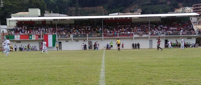Serra vence o Rio Branco VN e segue na vice-liderança da Série B Capixaba (Foto: Divulgação/Rio Branco VN)