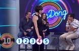 Renata Gaspar e Marcius Melhem acertam a primeira música no 'Ding Dong'